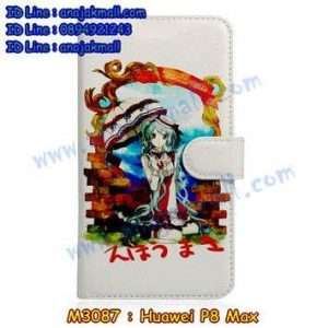 M3087-13 เคสหนังฝาพับ Huawei P8 Max ลาย Anime03