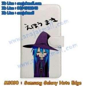 M3090-08 เคสหนังฝาพับ Samsung Galaxy Note Edge ลาย Uino