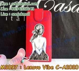 M3097-06 เคสฝาพับ True Lenovo 4G Vibe C ลาย Women