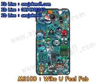 M3100-07 เคสยาง Wiko U Feel Fab ลาย JinUp