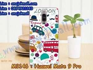 M3146-09 เคสแข็ง Huawei Mate 9 Pro ลาย London