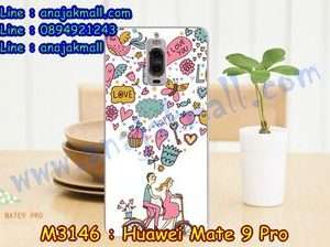 M3146-18 เคสแข็ง Huawei Mate 9 Pro ลาย Pink Love