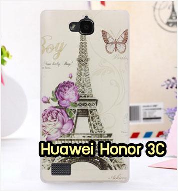 M775-07 เคสยาง Huawei Honor 3C ลาย Paris X