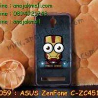 M2059-16 เคสยาง ASUS ZenFone C ลาย Iron Man IV