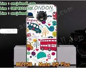 M2158-12 เคสแข็ง Moto G5 Plus ลาย London
