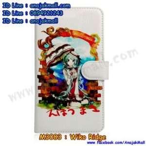 M3083-13 เคสฝาพับ Wiko Ridge ลาย Anime03
