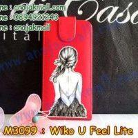 M3099-06 เคสฝาพับ Wiko U Feel Lite ลาย Women