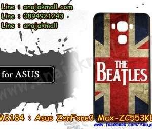 M3184-09 เคสแข็ง ASUS ZenFone3 Max-ZC553KL ลาย Beatles