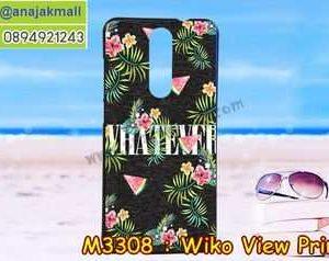 M3308-42 เคสยาง Wiko View Prime ลาย Flower X01