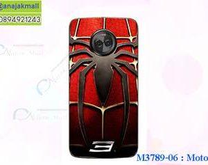 M3789-06 เคสแข็ง Moto X4 ลาย Spider