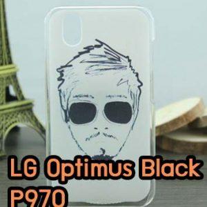 M620-01 เคสมือถือ LG Optimus Black - P970 ลาย Mansome
