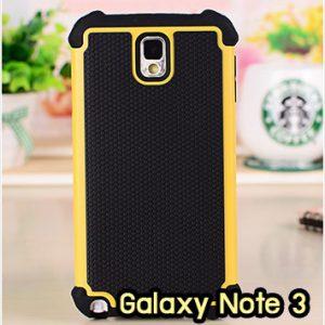 M1409-01 เคสทูโทน Samsung Galaxy Note 3 สีเหลือง