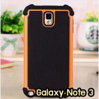 M1409-04 เคสทูโทน Samsung Galaxy Note 3 สีส้ม