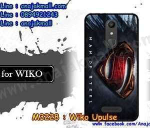 M3228-02 เคสยาง Wiko Upulse ลาย Super II