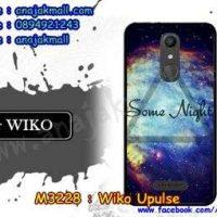 M3228-08 เคสยาง Wiko Upulse ลาย Some Nights