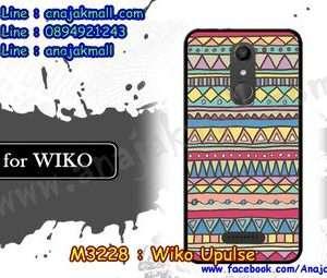 M3228-12 เคสยาง Wiko Upulse ลาย Graphic IV