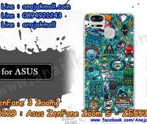 M3229-07 เคสแข็ง Asus Zenfone Zoom S-ZE553KL ลาย JinUp