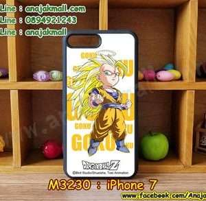 M3231-04 เคสขอบยาง iPhone7 ลาย Dragonball Z 01