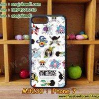 M3231-05 เคสขอบยาง iPhone7 ลาย piece16