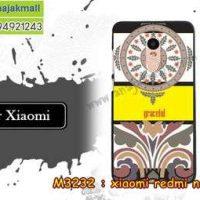 M3232-11 เคสแข็ง Xiaomi Redmi Note 4 ลาย graceful