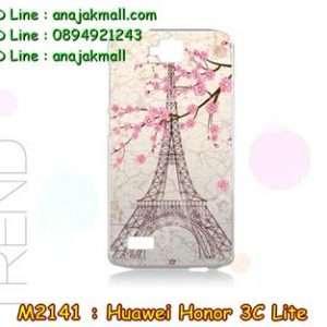 M2141-24 เคสแข็ง Huawei Honor 3C Lite ลาย Paris Tower
