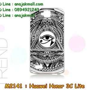 M2141-29 เคสแข็ง Huawei Honor 3C Lite ลาย BlackEye