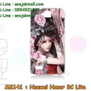 M2141-31 เคสแข็ง Huawei Honor 3C Lite ลาย Laminia