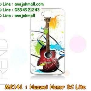 M2141-39 เคสแข็ง Huawei Honor 3C Lite ลาย Guitar