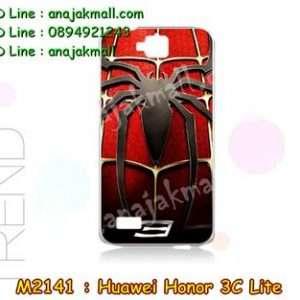 M2141-40 เคสแข็ง Huawei Honor 3C Lite ลาย Spider