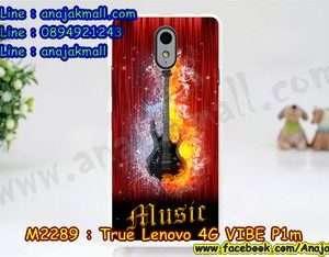 M2289-29 เคสแข็ง True Lenovo 4G Vibe P1m ลาย Music 03