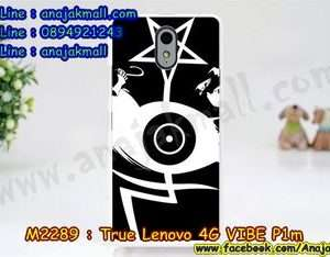 M2289-33 เคสแข็ง True Lenovo 4G Vibe P1m ลาย Black Eye 02