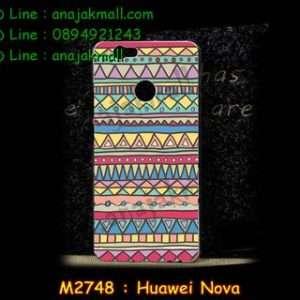 M2748-13 เคสแข็ง Huawei Nova ลาย Graphic IV