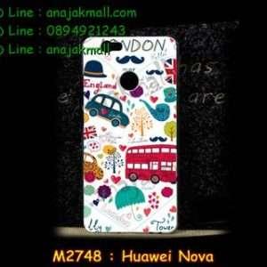 M2748-27 เคสแข็ง Huawei Nova ลาย London