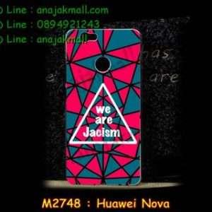 M2748-28 เคสแข็ง Huawei Nova ลาย Jacism