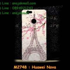 M2748-31 เคสแข็ง Huawei Nova ลาย Paris Tower