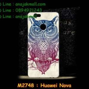 M2748-32 เคสแข็ง Huawei Nova ลาย Owl01