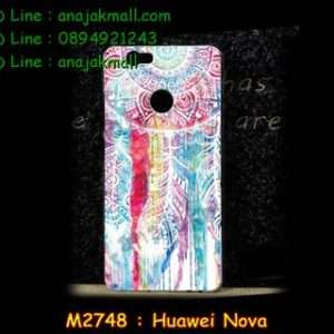 M2748-34 เคสแข็ง Huawei Nova ลาย Wool Color
