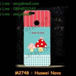 M2748-38 เคสแข็ง Huawei Nova ลาย Mushroom