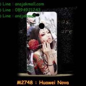 M2748-39 เคสแข็ง Huawei Nova ลาย Mafina