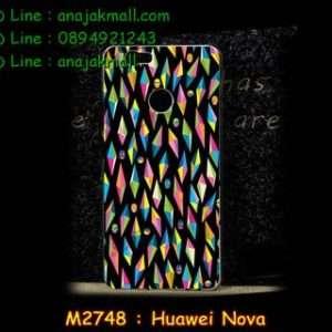 M2748-42 เคสแข็ง Huawei Nova ลาย Diamond Skull