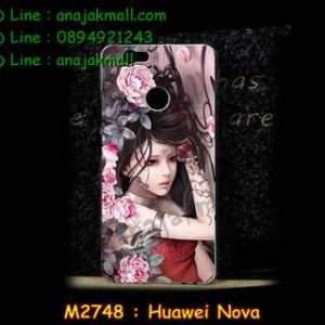 M2748-45 เคสแข็ง Huawei Nova ลาย Laminia