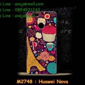 M2748-49 เคสแข็ง Huawei Nova ลาย Paris XI