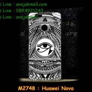 M2748-50 เคสแข็ง Huawei Nova ลาย Black Eye