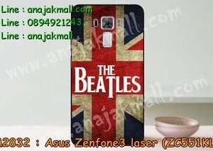 M2832-20 เคสแข็ง Asus Zenfone3 Laser - ZC551KL ลาย Beatles