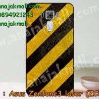 M2832-23 เคสแข็ง Asus Zenfone3 Laser - ZC551KL ลาย Black-Yellow