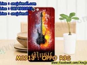 M2913-30 เคสแข็ง OPPO R9S ลาย Music 03