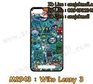 M2943-20 เคสยาง Wiko Lenny 3 ลาย Blood Vector