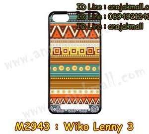 M2943-26 เคสยาง Wiko Lenny 3 ลาย Graphic II