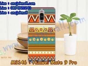 M3146-27 เคสแข็ง Huawei Mate 9 Pro ลาย Graphic II