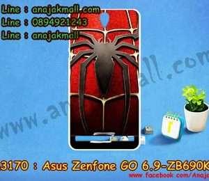 M3170-20 เคสยาง Asus Zenfone Go 6.9 นิ้ว-ZB690KG ลาย Spider